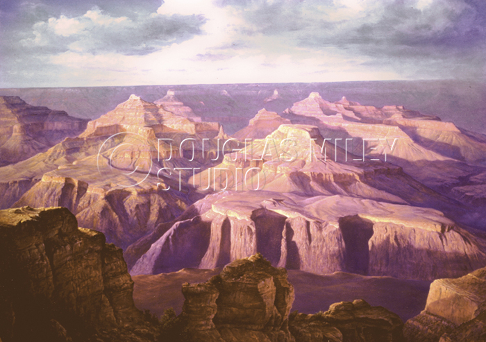 Summer Storm – Grand Canyon